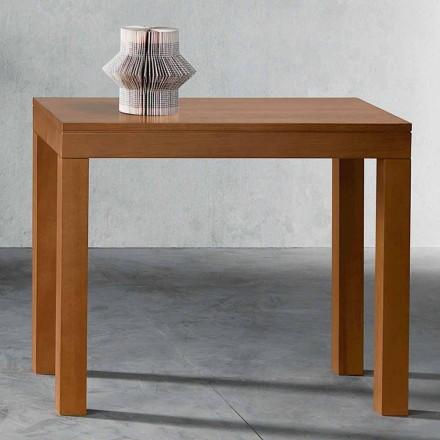 Console extensível até 12 assentos em madeira de nogueira Made in Italy - Picchia