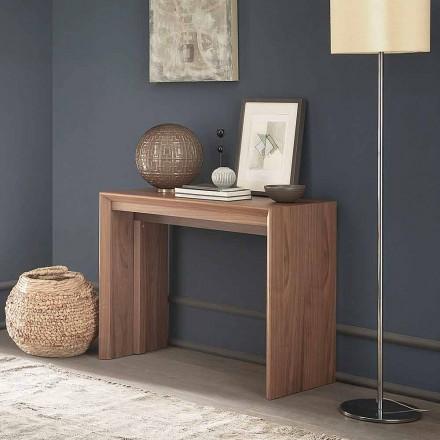 Mesa extensível até 295 cm em Madeira Made in Italy Design - Temocle
