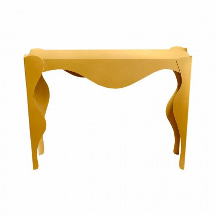 Console da sala de estar de design moderno em ferro colorido fabricado na Itália - Gertrude