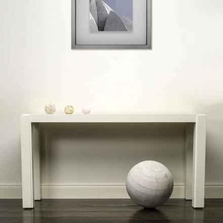 Consola de design moderno em madeira lacada 150x78x40 cm Felicity