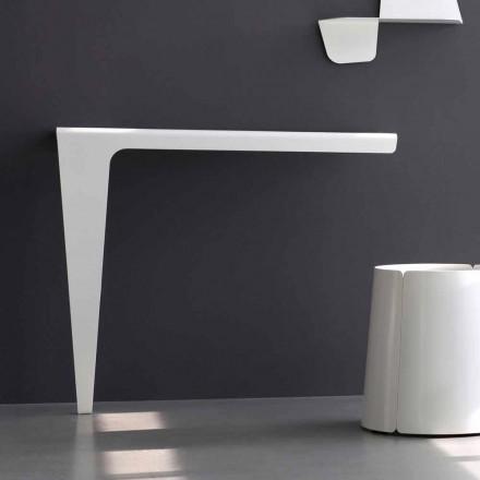 Console de design minimalista moderno em metal colorido feito na Itália - Benjamin