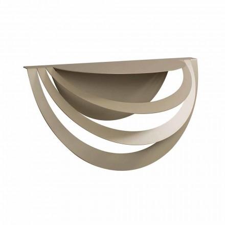 Console suspenso em ferro para design moderno fabricado na Itália - Olfeo