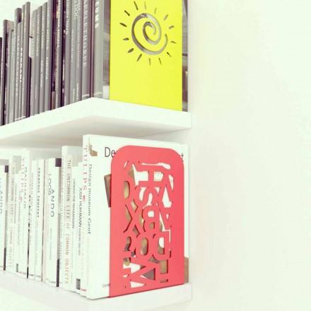 Design moderno conjunto de 2 bookends Blokko por Mabele