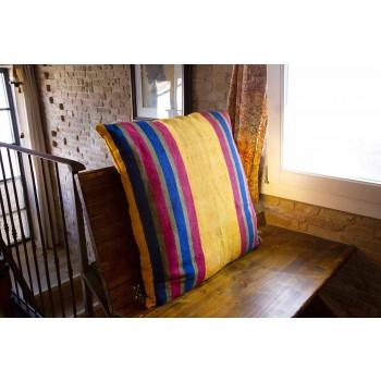 Almofada de cânhamo italiana pintada à mão - Marcas