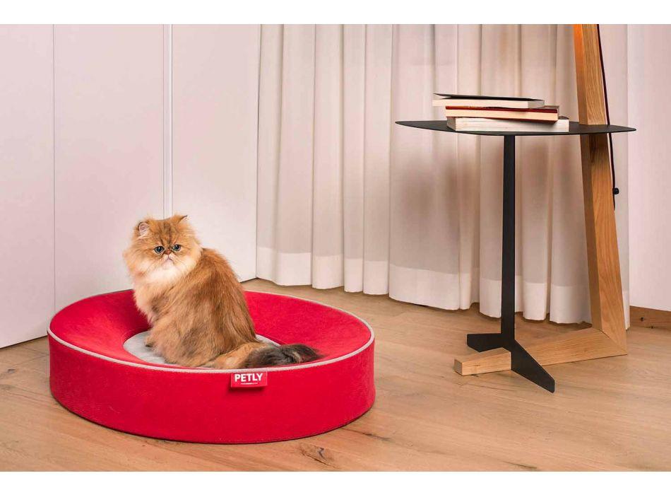 Almofada interna removível para cães em microfibra resistente a manchas - Coliseu