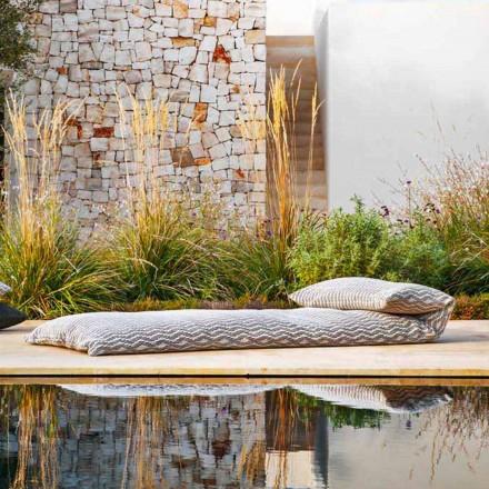Pufe com sofá-cama individual outdoor design de alta qualidade feito na Itália - Emanuela