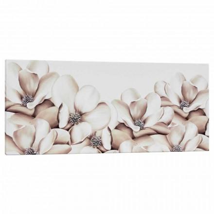 Imprimir em tela floral design decorado à mão na Itália Moscal