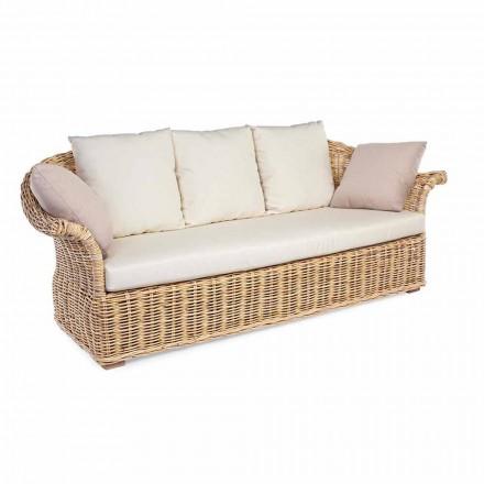 Sofá de estilo étnico para interior ou interior, para 2 ou 3 lugares Homemotion - Fermin