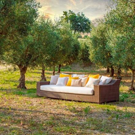 Sofá de jardim feito à mão Joe, design moderno