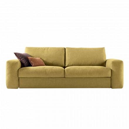 Sofá de tecido de design moderno 3 lugares Grilli George made in Italy
