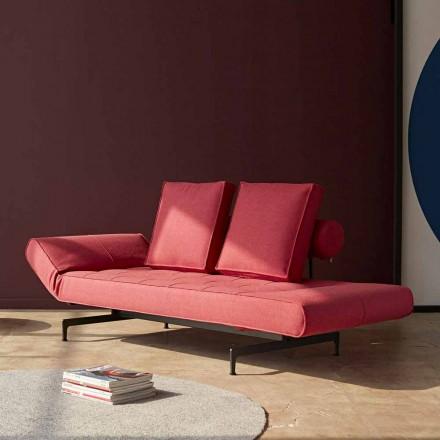 Ghia by Innovation design sofá cama em tecido estofado