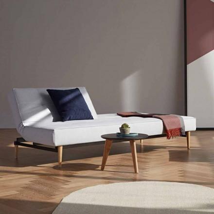Splitback by Innovation design moderno sofá-cama em tecido