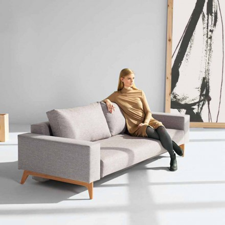 Sofá cinza moderno de design escandinavo Idun by Innovation