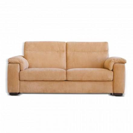 2seater sofá Lilia com um assento elétrico design moderno feito na Itália