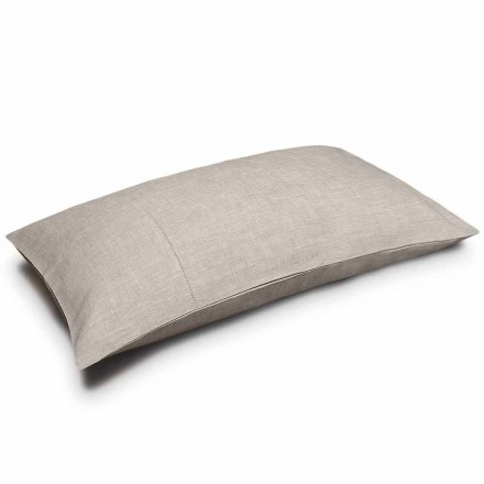 Fronha Pure Linen Cor Natural Made in Italy - Chiana