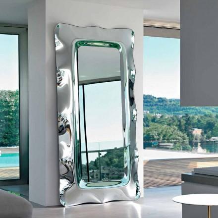 Fiam Italia Dorian piso / parede espelho pendurado 202x105 cm, made in Italy