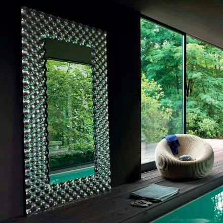 Fiam Italia Pop piso / parede pendurado espelho 216x116 cm, made in Italy