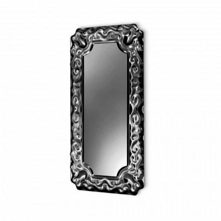 Espelho de parede com design novo barroco Fiam Veblèn feito na Itália