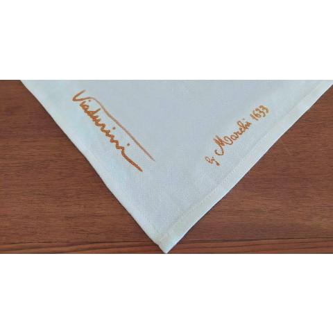 Avental de algodão de uma peça artesanal - Viadurini by Marchi