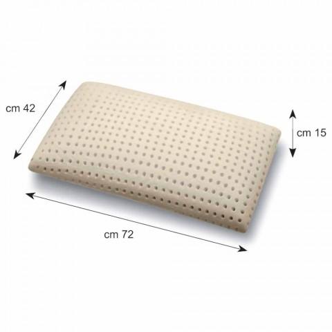 Almofada em espuma de memória perfurada 15 cm de altura Fabricado em Itália - Toulouse