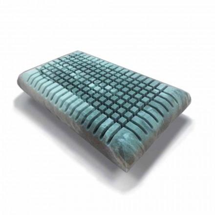 Travesseiro ergonômico Memory Xform com Fabricado na Itália, 2 pedaços - Clementino