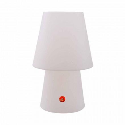 Lâmpada LED recarregável em polietileno para interior ou exterior - Fungostar