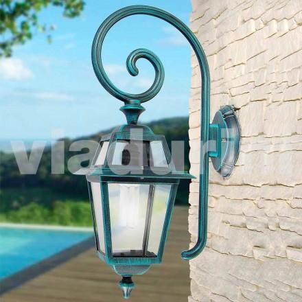 Mnade de lâmpada de parede de jardim com alumínio, produzido na Itália, Kristel