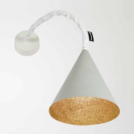 Luminária de parede Designer In-es.artdesign Jazz Cement painted