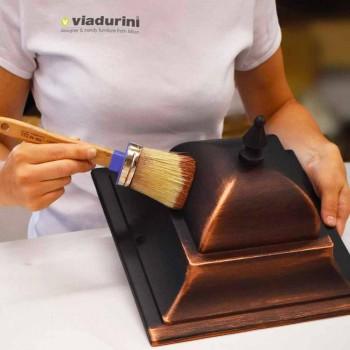 Aplique para exterior em alumínio fundido fabricado em Itália, Anusca
