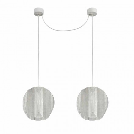 2 luminária de metacrilato leve Desejo, design moderno, diam. 22 cm