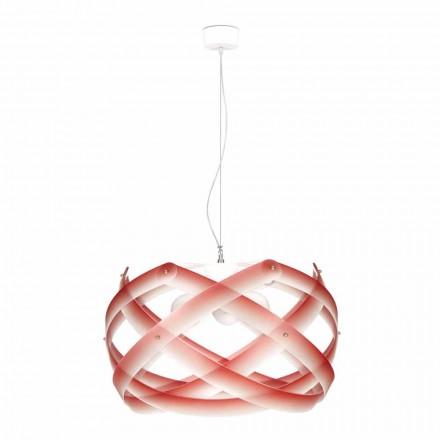 Luminária com 3 lâmpadas Vanna, feita de metacrilato, diam. 67 cm