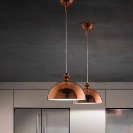 Pingente de cerâmica design moderno I Lustri 8 by Aldo Bernardi