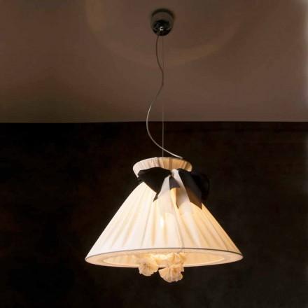 Design vintage pingente de seda luz Chanel