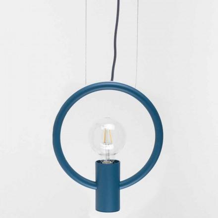 Lâmpada Suspensão Design em Aço Made in Italy - Delizia