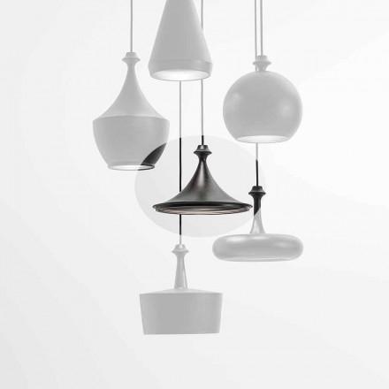 Lâmpada Led de Suspensão Cerâmica - Lustrini L1 Aldo Bernardi