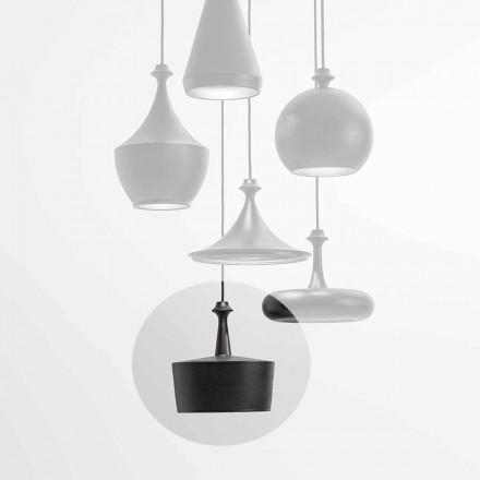 Lâmpada LED de suspensão de cerâmica - L6 Glitter Aldo Bernardi