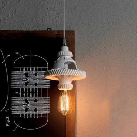 Candeeiro de Suspensão em Cerâmica em 3 Acabamentos de Design Moderno - Futurismo