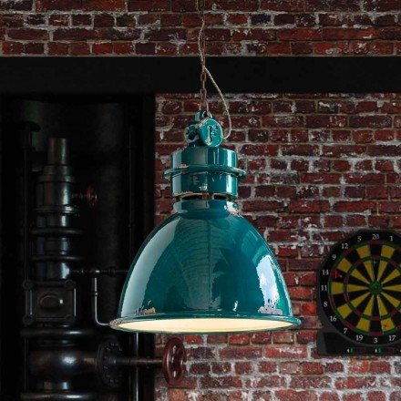 Katie design industrial artesanal luminária