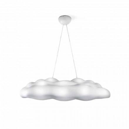 Lâmpada de suspensão externa com design de nuvem de plástico - Nefos by Myyour