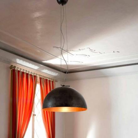 Luminária pendente em aço design moderno Moonlight