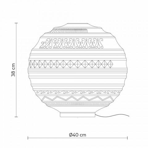 Abajur em Vidro Cetim Branco e Metal Design Moderno - Morse