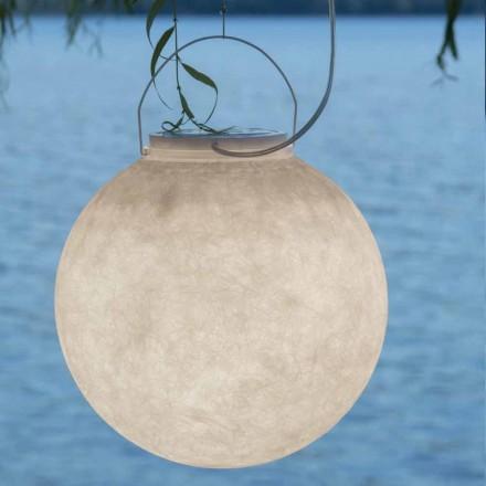Lâmpada de suspensão ao ar livre In-es.artdesign Luna Out in nebulite