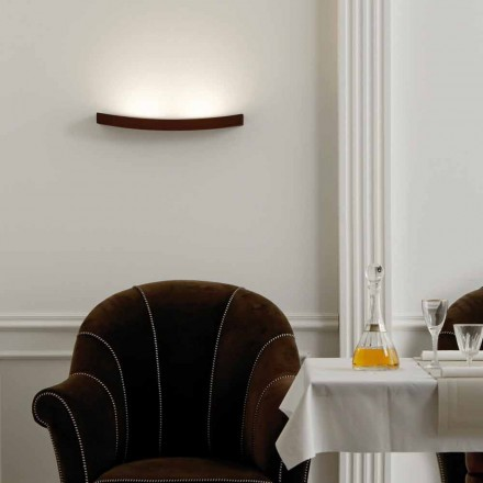 Luminária de parede design moderno em aço L50x H3,5xSp.10 cm Eldora