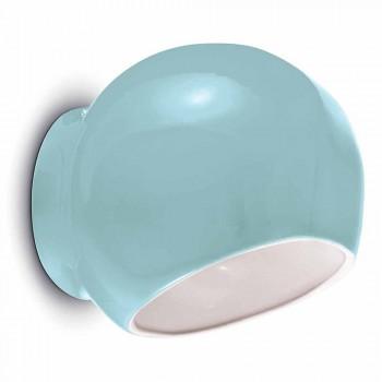 Aplique de cerâmica design vintage fabricado na Itália - Ferroluce Ayrton