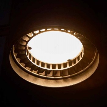 Aplique em Ferro e Alumínio Artesanal Fabricado na Itália - Trema