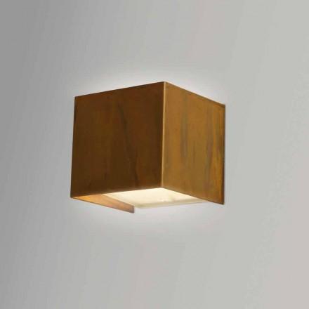 Lâmpada de parede de latão design moderno 9x H 9x, 9 cm, Venus