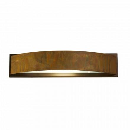 Lâmpada de parede em latão e aço 49x H 10 x 9 cm Blandine