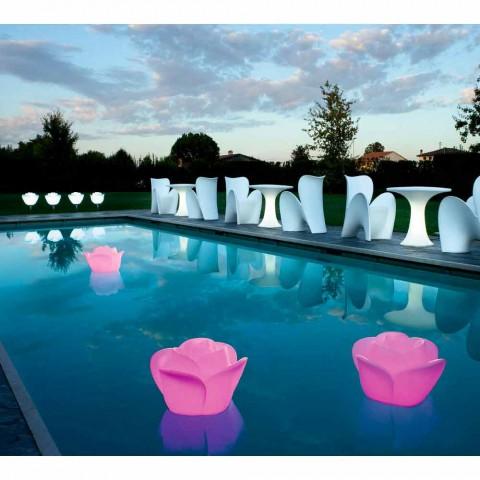 Abajur em forma de rosa com LED RGBW de indução - Baby Love by Myyour