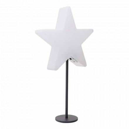 Candeeiro de mesa de design moderno, estrela com ou sem pedestal - Littlestar
