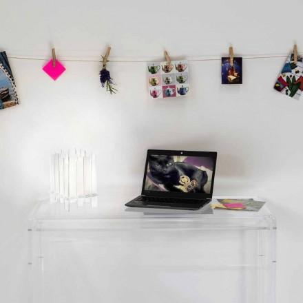 Designer candeeiro de mesa em plexiglass Ketty, fabricado em Itália